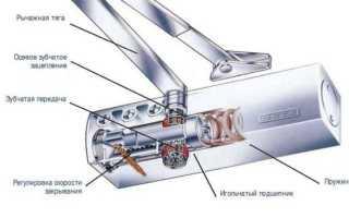 Инструкция по самостоятельной регулировке доводчика двери