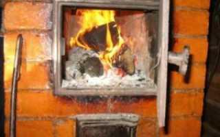Схемы постройки печей из кирпича