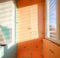 Утепление стены с комнатой а лоджии