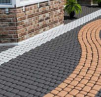 Что нужно уложить тротуарную плитку