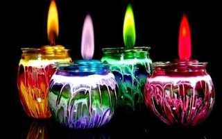 Зеленая свеча для чего используется