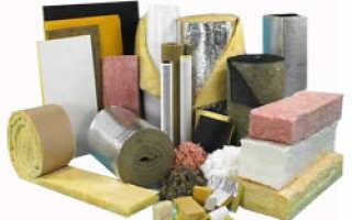 Теплоизоляционные материалы виды и свойства