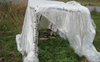 Походная баня как попариться в полевых условиях