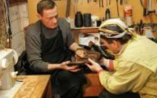 Бизнес с нуля ремонт обуви