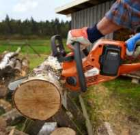Натяжитель цепи электропилы ремонт своими руками