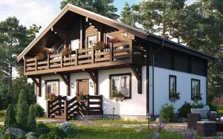 Особенности комбинированных загородных домов для комфортной жизни