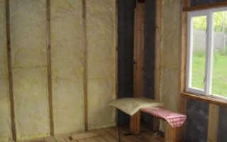 Способы утепления стен от грибка
