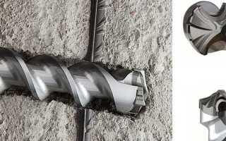 Как сверлить отверстия в бетоне