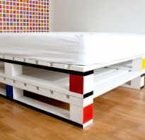 Мебель для спальни из поддонов
