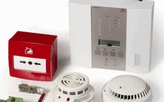 Как выполнить ремонт пожарной сигнализации
