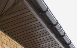 Подшивка свесов крыши доступные варианты и способы