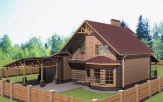 Планы домов одноэтажных с мансардой