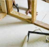 Как установить стену между парной и помывочной