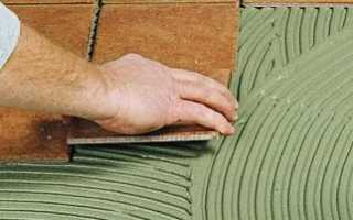 Плиточный клей без цемента