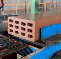 Производство керамического кирпича способами пластического формования
