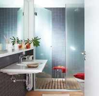 Установка душевой кабины в маленькой ванной