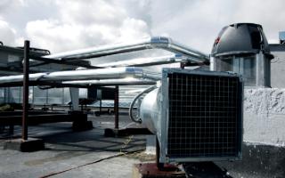 Приточные установки с газовым нагревом