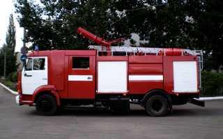Автоцистерны пожарные лёгкого типа