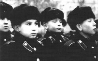 Суворовские кадетские и военные училища