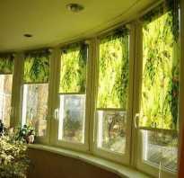 Виды штор на лоджию или балкон