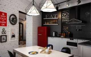 Отделка кухни столовой в частном доме