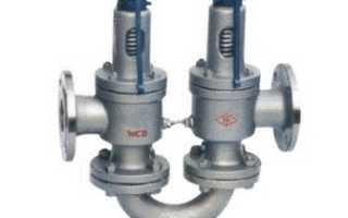 Клапаны предохранительные паровых и водогрейных котлов