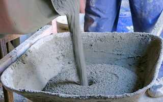 Калькулятор цементной смеси для стяжки пола