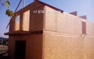 Самостоятельное строительство из сип панелей