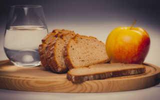 Похудение на хлебе и воде особенности диеты