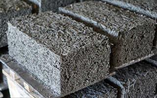 Арболитовые блоки и особенности их изготовления