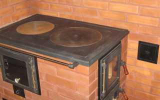 Печь малютка Отопительно варочная печь малютка порядовка