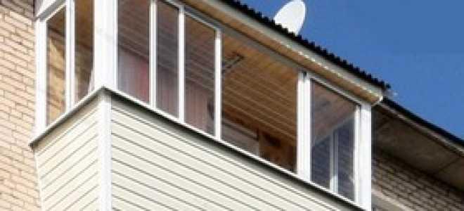 Особенности остекления балкона с выносом