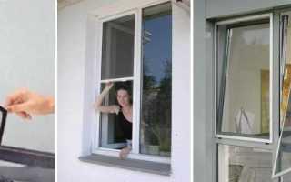 Как самому установить сетку пластиковые окна
