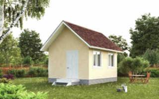 Дачный домик из сип панелей