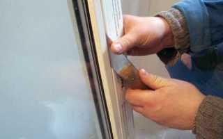 Как разобрать окно пластиковое пошаговая инструкция