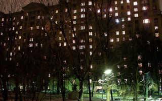 Освещение тамбура жилого дома нормы