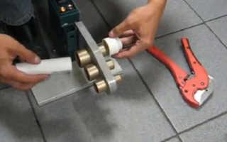 Каким оборудованием сваривать трубы пп диаметром 108