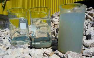Основные показатели при исследовании воды