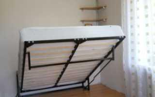 Откидная кровать диван своими руками