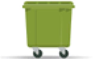 Строительные отходы битый кирпич