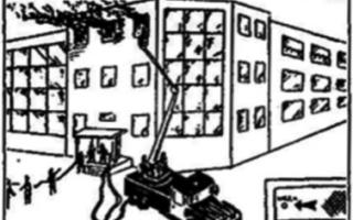 5 решающих направлений при тушении пожара