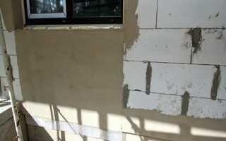 Можно ли газоблок штукатурить цементным раствором