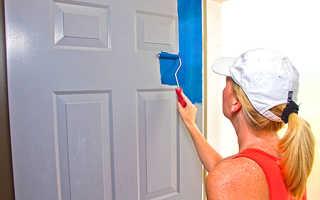 Как красиво покрасить двери канадка межкомнатные советы