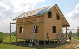 Дом из сип строим сами