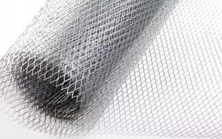 Штукатурка металлических поверхностей сетка