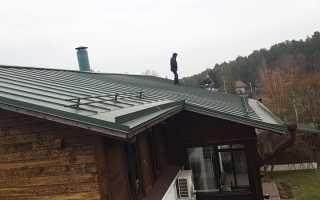 Если протекает крыша в доме