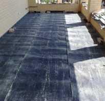 Из чего сделать гидроизоляцию балкона