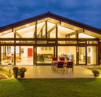 Каркасные дома в стиле фахверк проекты