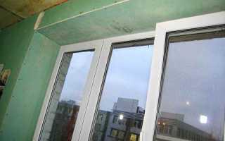 Отделка откосов окна гипсокартоном своими руками