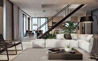 Дизайн частного дома современный интерьер